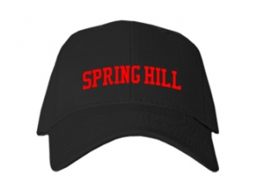 Spring Hill Elementary School Kid Embroidered Baseball Caps