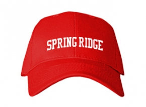 Spring Ridge Elementary School Kid Embroidered Baseball Caps