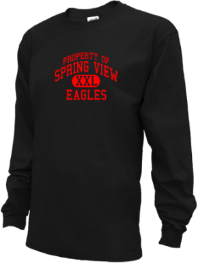Spring View Middle School Kid Long Sleeve Shirts