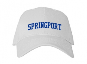 Springport High School Kid Embroidered Baseball Caps
