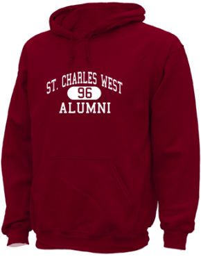 St. Charles West High School Hoodies