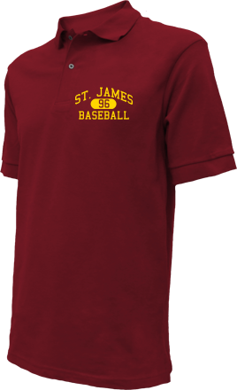 St. James High School Embroidered Polo Shirts