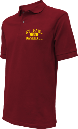St. Paul High School Embroidered Polo Shirts