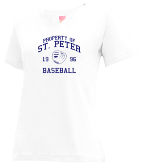 St. Peter High School V-neck Shirts