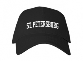 St. Petersburg High School Kid Embroidered Baseball Caps