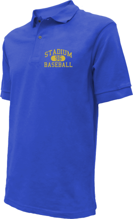 Stadium High School Embroidered Polo Shirts