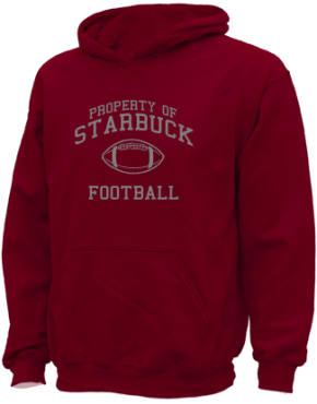 Starbuck Elementary School Kid Hooded Sweatshirts