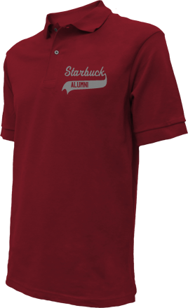Starbuck Elementary School Embroidered Polo Shirts