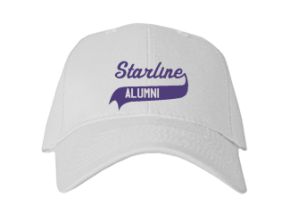 Starline Elementary School Embroidered Baseball Caps