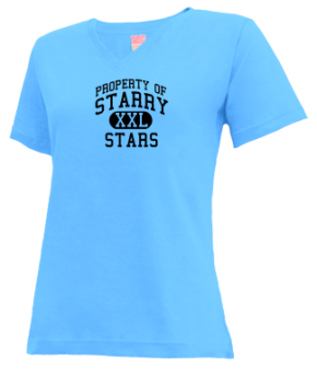Starry Elementary School V-neck Shirts