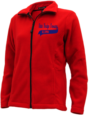 State Bridge Crossing Elementary School Embroidered Fleece Jackets
