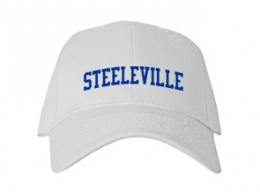 Steeleville High School Kid Embroidered Baseball Caps