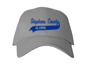 Stephens County Middle School Embroidered Baseball Caps