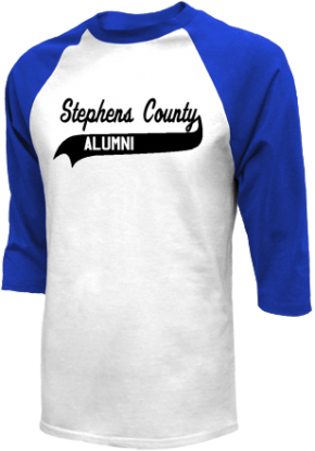 Stephens County Middle School Raglan Shirts