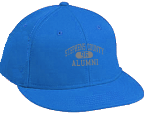 Stephens County Middle School Flat Visor Caps