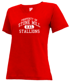 Stone Mill Elementary School V-neck Shirts