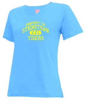 Stringtown Elementary School V-neck Shirts