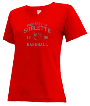 Sublette High School V-neck Shirts