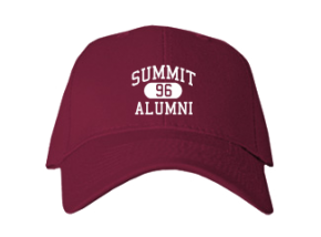 Summit High School Embroidered Baseball Caps