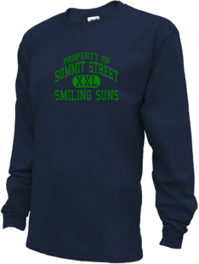 Summit Street Elementary School Kid Long Sleeve Shirts