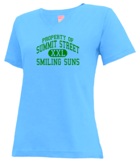 Summit Street Elementary School V-neck Shirts