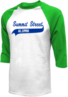Summit Street Elementary School Raglan Shirts