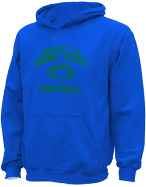 Summit Street Elementary School Kid Hooded Sweatshirts