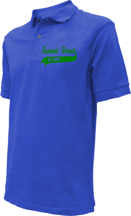 Summit Street Elementary School Embroidered Polo Shirts