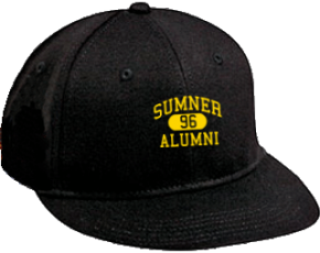 Sumner Middle School Flat Visor Caps