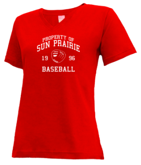 Sun Prairie High School V-neck Shirts