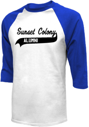 Sunset Colony School Raglan Shirts