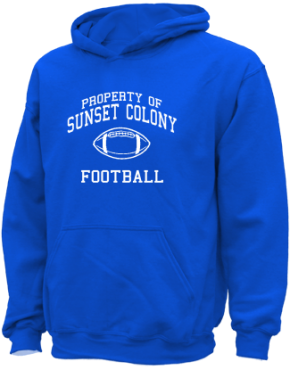 Sunset Colony School Kid Hooded Sweatshirts