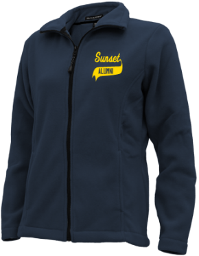 Sunset Elementary School Embroidered Fleece Jackets