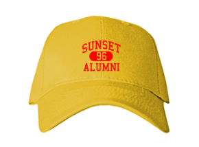 Sunset Elementary School Embroidered Baseball Caps