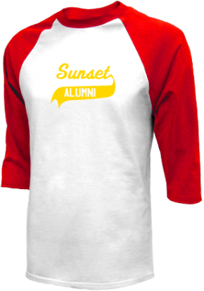 Sunset Elementary School Raglan Shirts