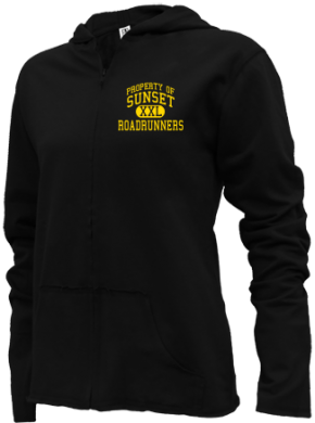 Sunset Elementary School Girls Zipper Hoodies