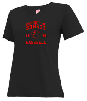 Sunset High School V-neck Shirts
