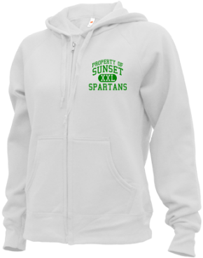 Sunset Middle School Zip-up Hoodies