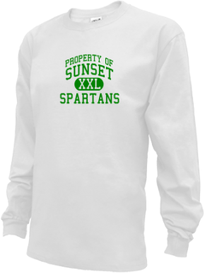 Sunset Middle School Kid Long Sleeve Shirts
