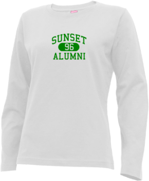 Sunset Middle School Long Sleeve Shirts