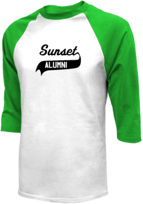 Sunset Middle School Raglan Shirts