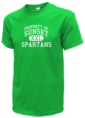 Sunset Middle School Kid T-Shirts