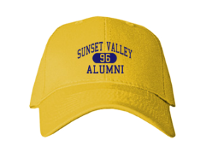 Sunset Valley Elementary School Embroidered Baseball Caps
