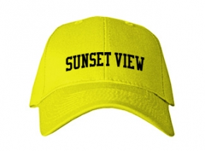 Sunset View Elementary School Kid Embroidered Baseball Caps