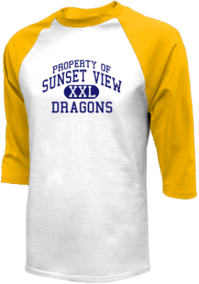 Sunset View Elementary School Raglan Shirts