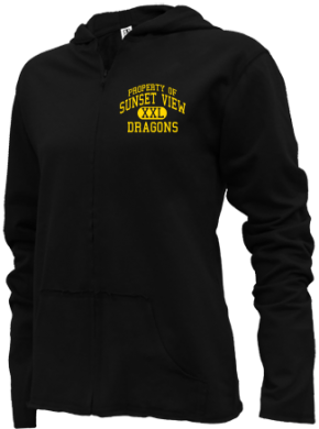 Sunset View Elementary School Girls Zipper Hoodies