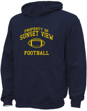 Sunset View Elementary School Kid Hooded Sweatshirts