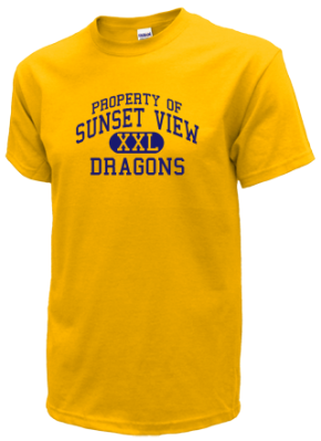 Sunset View Elementary School Kid T-Shirts