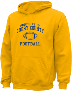 Surry County High School Kid Hooded Sweatshirts