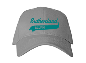 Sutherland Middle School Embroidered Baseball Caps